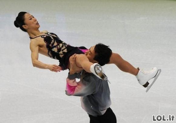 Pikantiški čiuožėjų kadrai [14 foto]