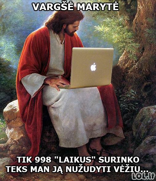 Jėzaus Facebook'o galia