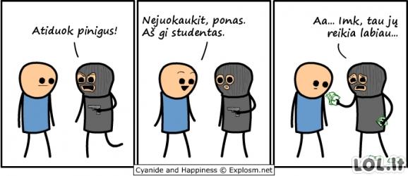 Studentas ir žulikas