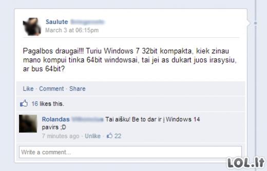 Windows pagalbos centras