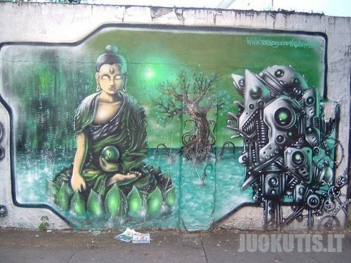 Street Art vs. Religion
