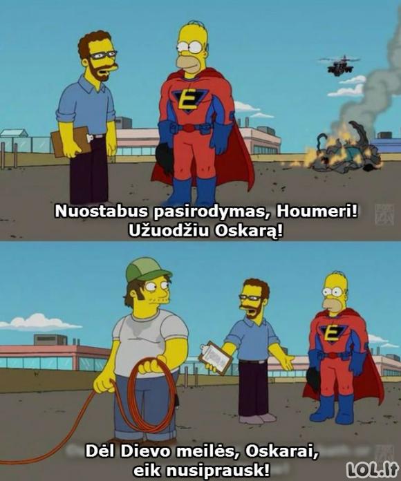 Oskaras Houmeriui