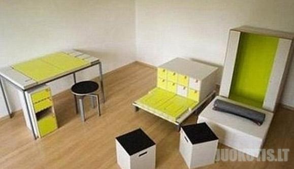 Visas kambarys vienoje dėžėje