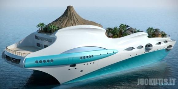 Tropikai jachtoje