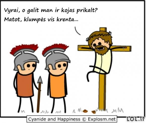 Paskutinis Jėzaus prašymas