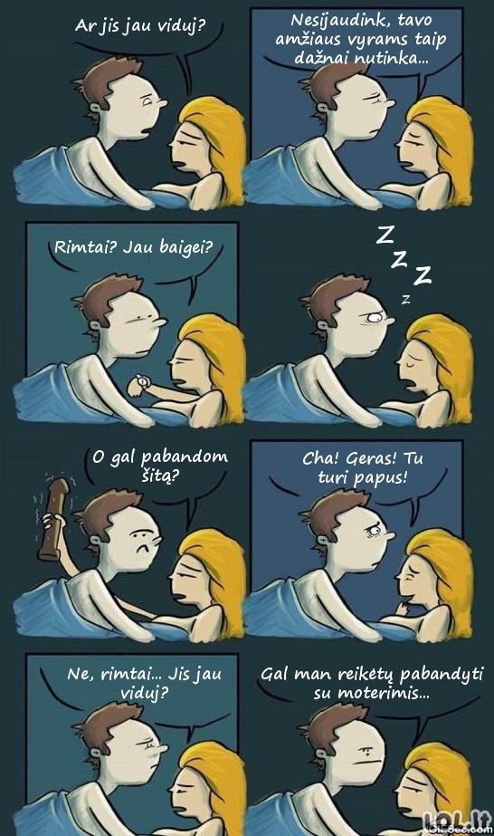 Kaip visiškai sugniuždyti vyrą lovoje?