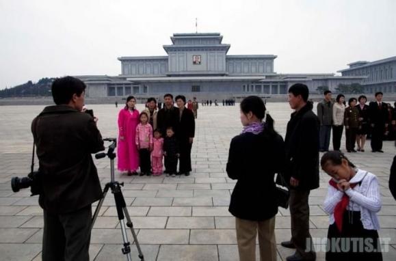 Kaip žmonės gyvena Šiaurės Korejoje.