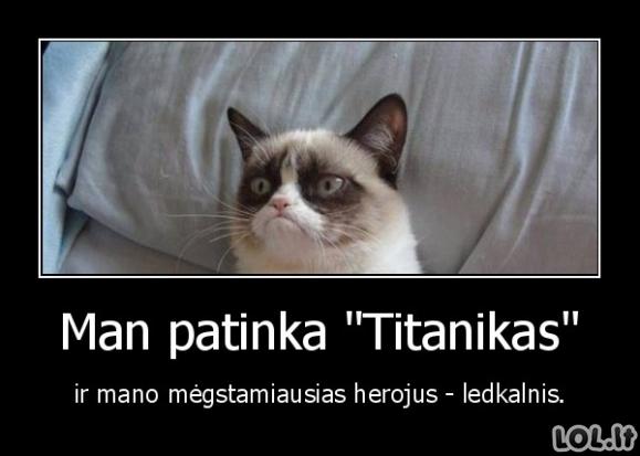 """Dėl ko man patinka """"Titanikas"""""""