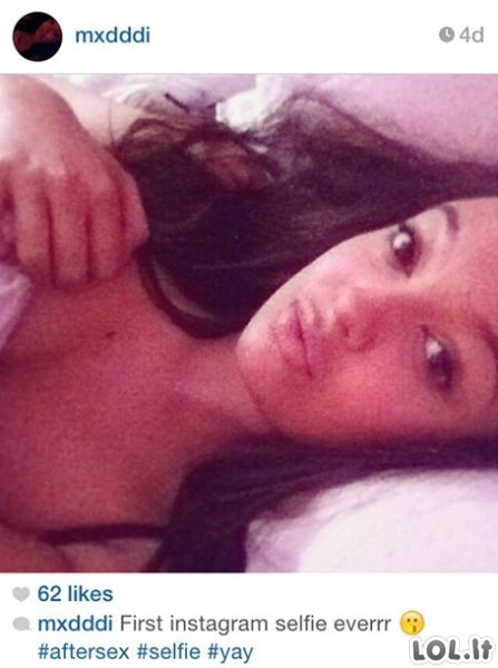 Poseksiniai selfiai - nauja Instagramo mada