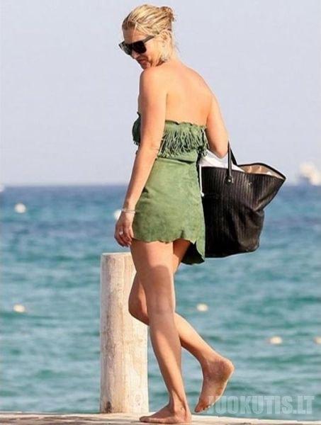 Išdykusi Kate Moss