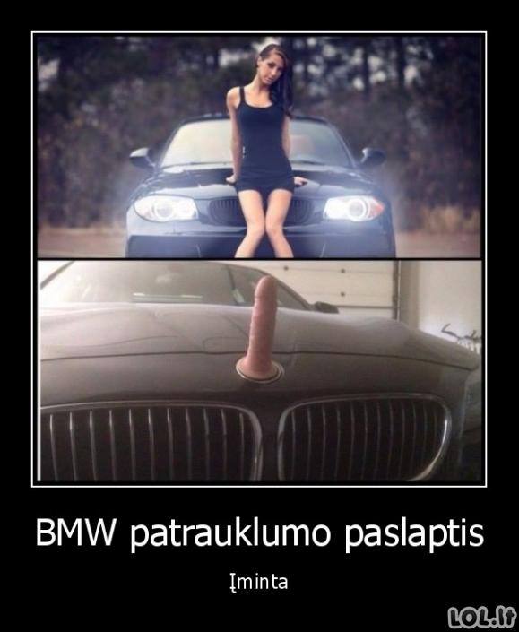 Kodėl merginas traukia BMW?