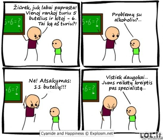 Rimtos mokytojo problemos