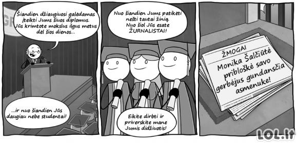 Kaip atsiranda žurnalistai Lietuvoje