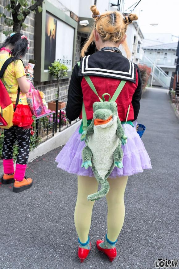 Pamišėliškos japonų mados