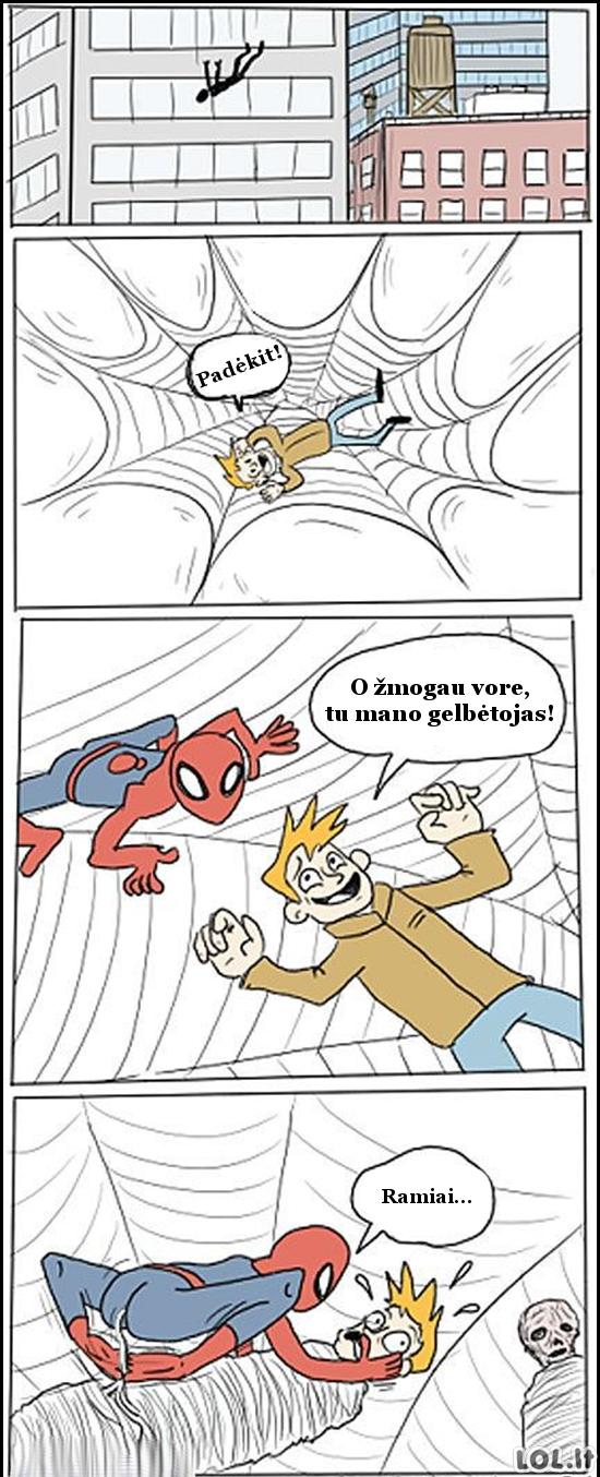 Žmogus voras - didvyris gelbėtojas?