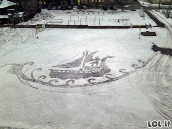 Talentingas kiemsargis iš Rusijos