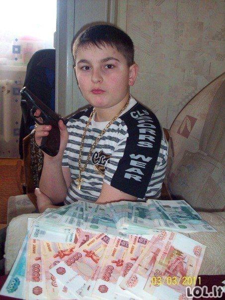 Rusų pozavimo ypatumai