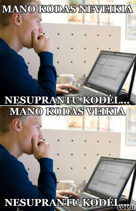 Programuotojų vargai