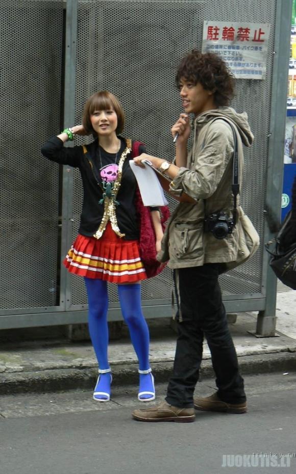 Japonijos gatvės mados