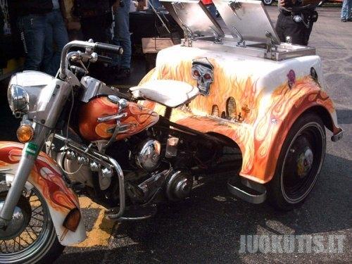 Įdomiausi motociklų pavyzdžiai