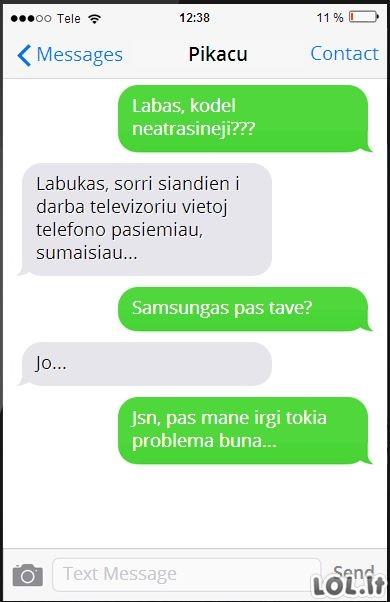 Šiuolaikiškų telefonų problemos