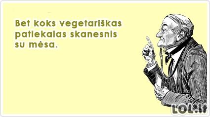 Patarimas vegetarams