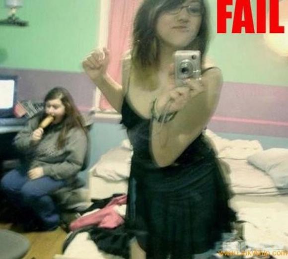 Nepavykusios merginų nuotraukos