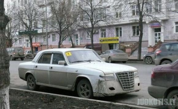Tai įmanoma tik Rusijoje