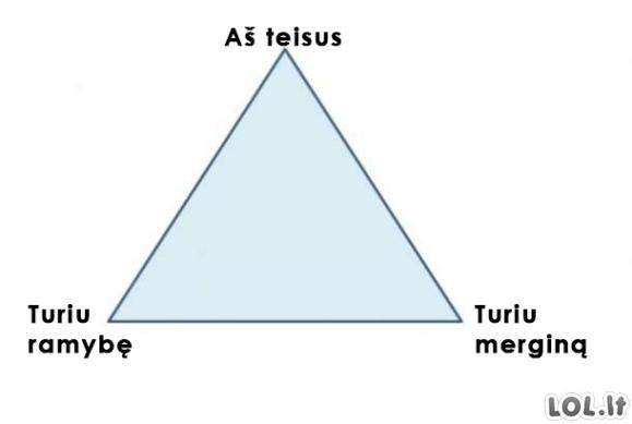Vyriško pasirinkimo trikampis