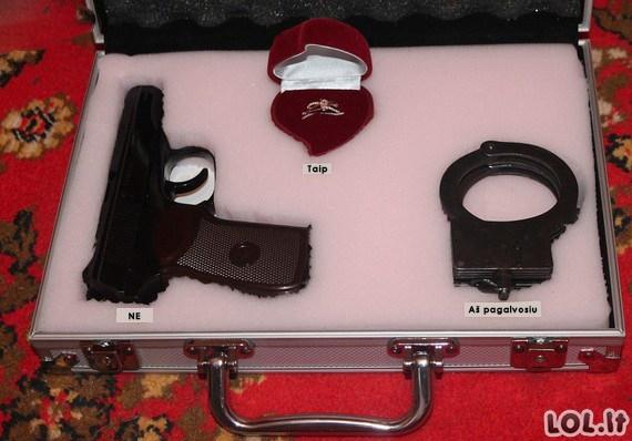 Pasipiršimo lagaminėlis