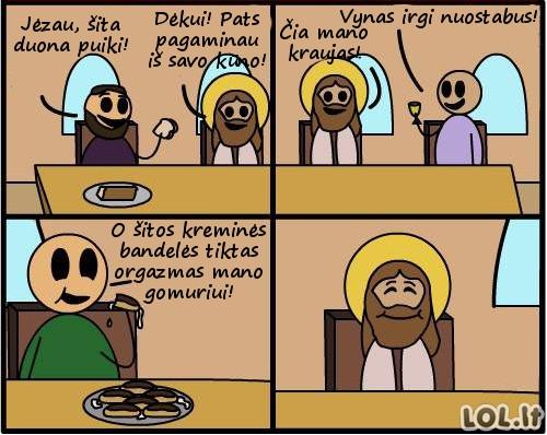 Jėzaus produktų linija