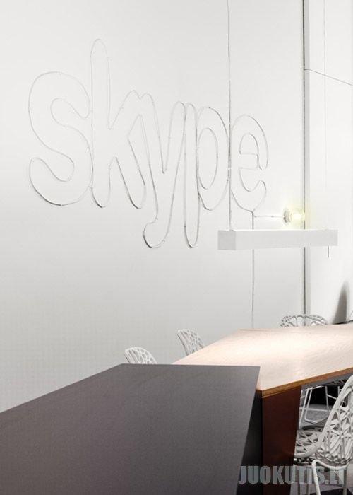 Skype kompanijos ofisas