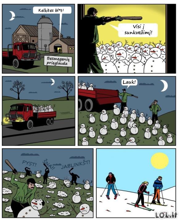 Kaip atsiranda dirbtinis sniegas?