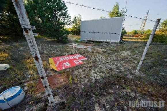 Pasivaikščiojimas Černobylio apylinkėse