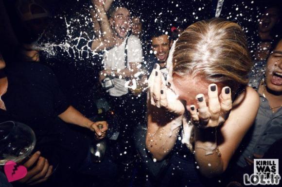 Šampanas ir merginos [33 FOTO]