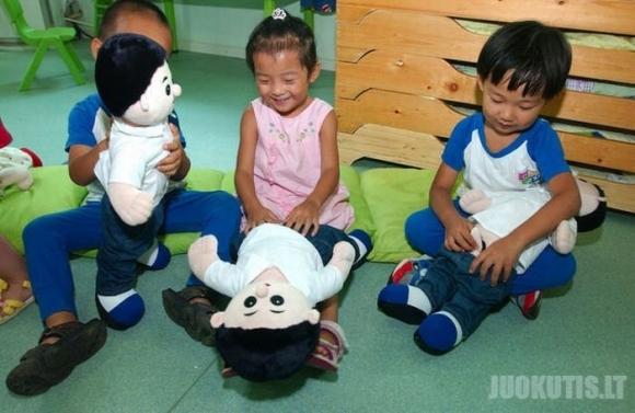 Kaip kinų vaikus moko anatomijos