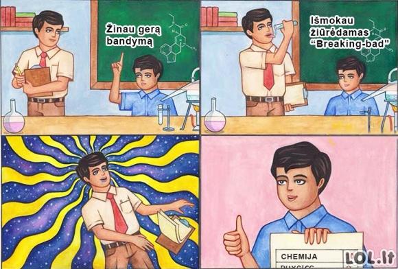 Kaip gauti 10 iš chemijos?