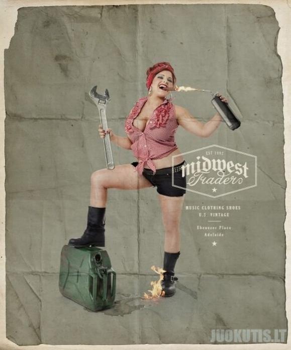 Erotiškiausi reklaminiai plakatai