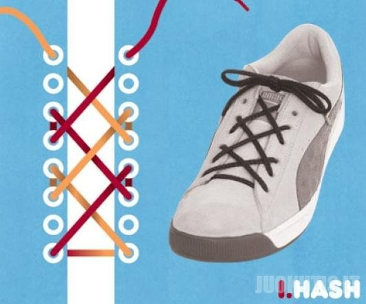 Kaip užsirišti batus