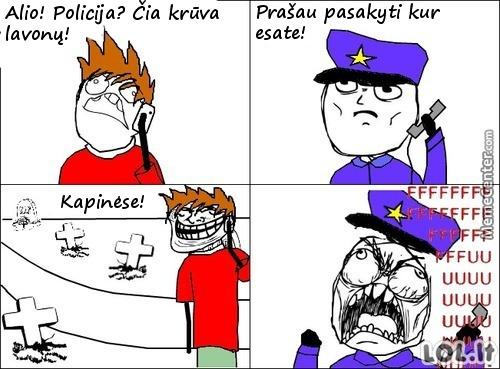Kaip patrolinti policiją