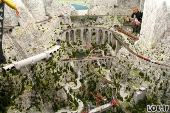 Didžiausias žaislinis miestas pasaulyje