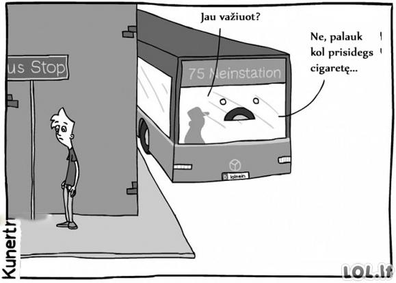 Autobusų maištas
