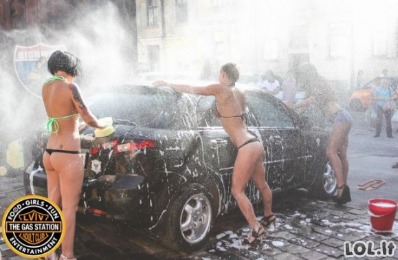 Labdaringas automobilių plovimas