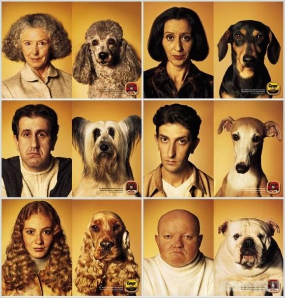 Sakoma, kad šunys panašūs į savo šeimininkus