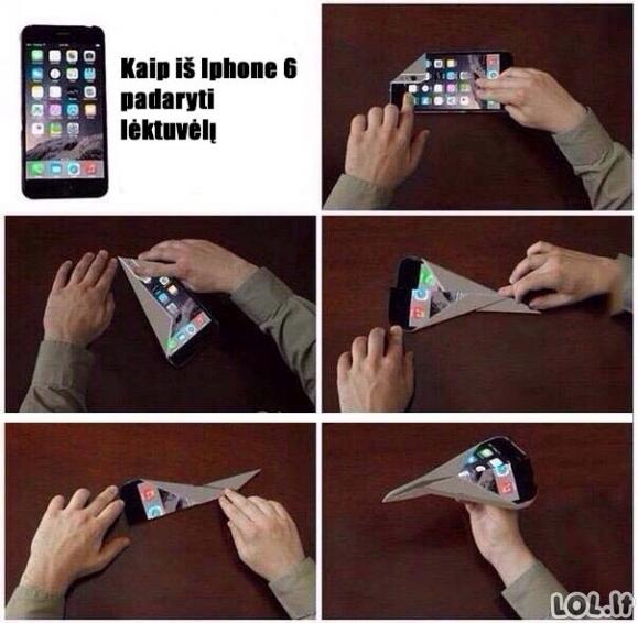 Geriausia naujo iPhone funkcija