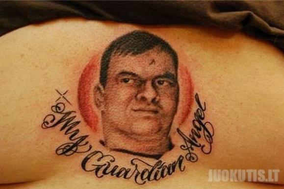 Blogiausių tatuiruočių pavyzdžiai