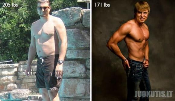 Neįtikėtina transformacija