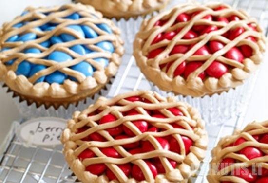 Užmaskuoti pyragėliai