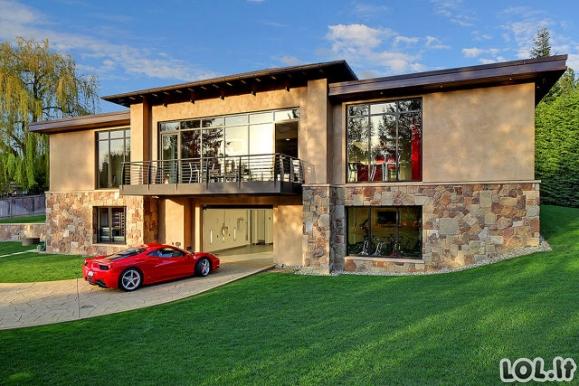 Automobilių maniako svajonių namai