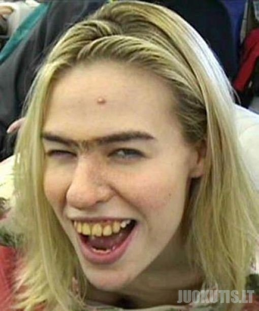 Visos moterys yra gražios, bet kai kurios... gerokai mažiau už kitas